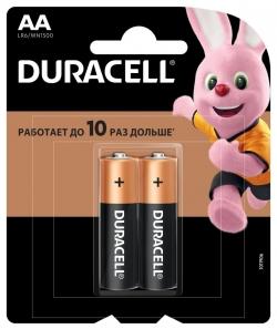 Батарейка Duracell LR6-2BL BASIC CN (24/96/10752)