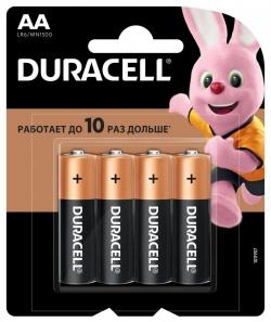 Батарейка Duracell LR6-4BL BASIC CN (48/192/18816)