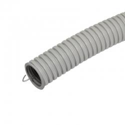 Гофро-труба Д=32 с протяжкой (50)Plast