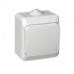 Выкл. 1кл. 10А ОП белый Basic
