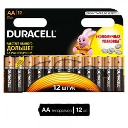Батарейка Duracell LR6-12BL BASIC (12/144/19584)
