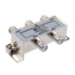Делитель ТВх4 под Fразъем 5-1000 МГц