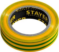 Изолента ПВХ желто-зеленая 15ммх10м Stayer