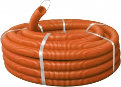Гофро-труба Д=16 с протяжкой (100м)