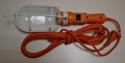 Светильник переноска ЛСУ-1 60Вт 5м с выключ. с решеткой