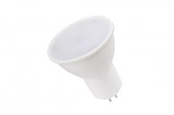 Лампа светодиодная GU5.3 MR-16 7Вт 230В белый ECO iEK
