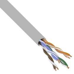 Кабель витая пара PROconnect UTP 4PR 24AWG/CCA/CAT5e/PVC серый