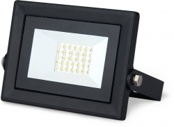 Прожектор светодиод. ДО-20w 6500К 1320Лм IP65 черный ПРОМО Gauss