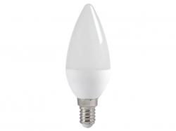 Лампа светодиодная Е14  5Вт LED свеча тепло-белый мат. ECO iEK