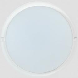 Светильник светодиод. ДБП-12w 6500К 800Лм IP54 круглый пласт. белый