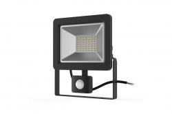 Прожектор светодиод. ДО-30w 6500К 2400Лм IP54 с ИК датчиком iEK