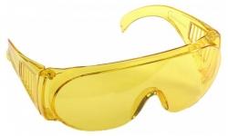 Очки защитные Stayer ''Standart'' желтые поликарб.монолинза с бок. вентил.