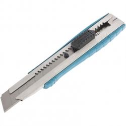 Нож пистолетный с сегм. лезвием , 9мм 145мм, корпус ASB-пластик, метал. направляющая Gross