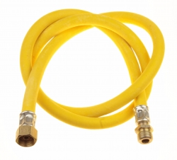Шланг д/газовых приборов из ПВХ (желтый) 1/2х0,5м в/н,МР-У