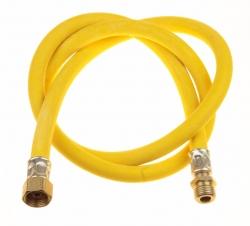 Шланг д/газовых приборов из ПВХ (желтый) 1/2х1,0м в/н,МР-У