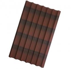 ОНДУЛИН-Черепица 950х1950 коричневый УЦЕНКА