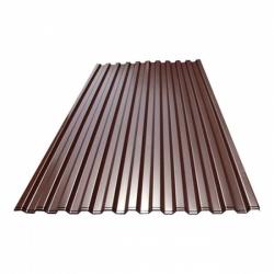 Профнастил C21-1000х0,40 L-3,00м шоколад РАСПРОДАЖА / УЦЕНКА