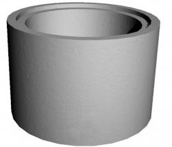 Кольцо ж/б с замком d-1,50м (h-0.9м)