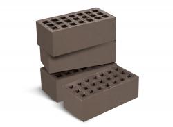 Кирпич керам. пустотелый утолщ. (250х120х88) лицевой Шоколад ГОСТ 530-2012