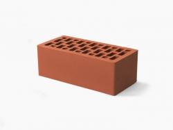 Кирпич керам. пустотелый (250х120х65) лицевой Красный ГОСТ 530-2012