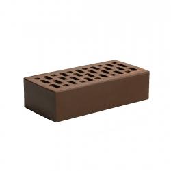 Кирпич керам. одинарный лицевой Шоколад Магма