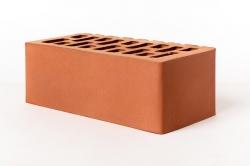 Кирпич керам. утолщенный (250х120х88) лицевой Красный ГОСТ 530-2012