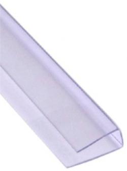 Профиль торцевой 8мм х 2,1м (прозрачный)