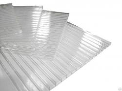 Сотовый поликарбонат СПК 2,1х  6,0мх 6,0мм (0,8кг/м2) Полиджи