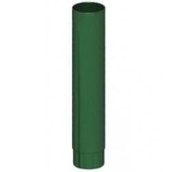 Труба д.100 L-1.25м (зел. мох)