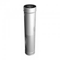 Труба дымоходная (ст. 0,5мм) дл. 1м  д.100мм