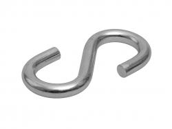 Крючок S-образный  6мм 20708 (3шт)