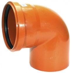 Отвод пласт. 110х90 (нар)