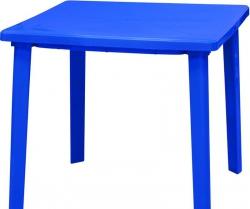 Стол пласт. 800х800х710  Синий