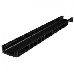 Лоток 100. 65 h69 пластиковый (черный) Ecotek-Стандарт