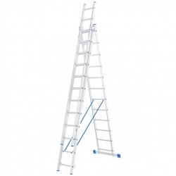 Лестница алюмин.3х12ступ. трехсекц. Сибртех (Россия)
