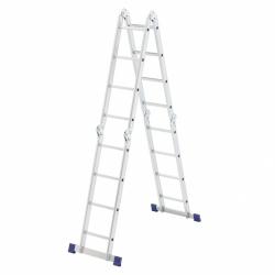 Лестница шарнирная алюмин. 4х4 Сибртех (Россия)
