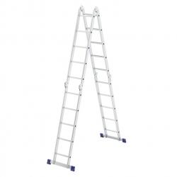 Лестница шарнирная алюмин. 4х5 Сибртех (Россия)