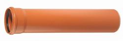 Труба пласт. d-110х3,2мм L-1,00м наруж. Сантехгрупп