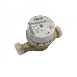 Счетчик воды МЕТЕР СВУ-15 (Невод) со штуцерами, без обратного клапана