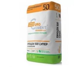 Цемент ПЦ-500 Д-0 50 кг Плюс Евро