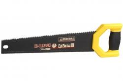 Ножовка по дер. 400мм STAYER DUPLEX  двухстороняя, 12 TPI прямой зуб + 7 TPI