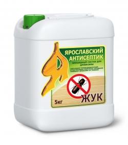 Антисептик ЖУК биоцидный состав д/древесины  5кг ЯР.