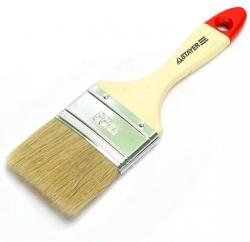 """Кисть пл.  STAYER """"LAZUR-STANDART""""  2,5""""/63мм,  смешанная (нат. и  искусств. щетина),  дерев. ручка"""