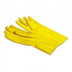 Перчатки резиновые S