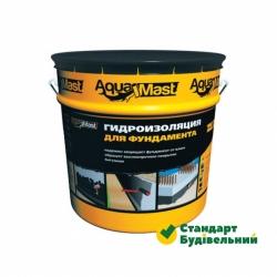 Мастика битумная  AquaMast д/фундамента (18кг)