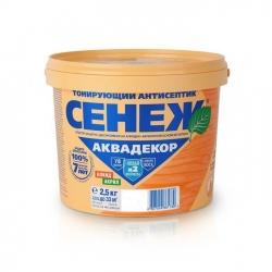 "Антисептик ""Сенеж-Аквадекор"" Х2-111 Тик 2,5кг"