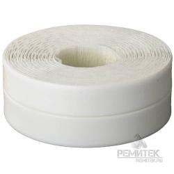 Лента бордюрная герметик 60мм*3,35м белая блистер