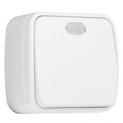 Выкл. 1кл. 10А ОП с индикат. белый Basic