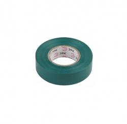 Изолента класс В зеленая, 0,13х15мм 20м Simple