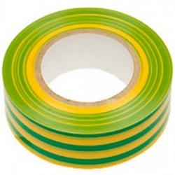Изолента класс В желто-зеленая, 13ммх20м Simple